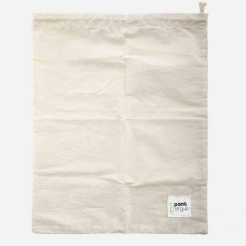 Point-Virgule reusable cotton bread bag 32x47cm (20pcs/disp.)
