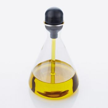 Point-Virgule glass oil bottle with pipette 250ml