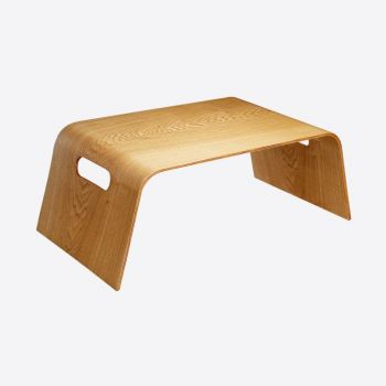 Point-Virgule bed tray colour of wood 57x31x21cm