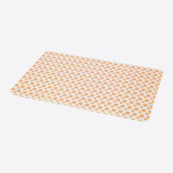 Point-Virgule silicone placemat orange 45x30cm