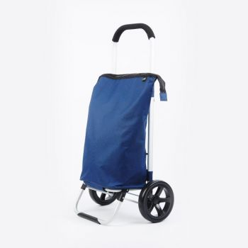 Point-Virgule shopping trolley navy blue