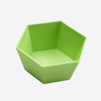Point-Virgule 4x hexagonal cupcake baking form