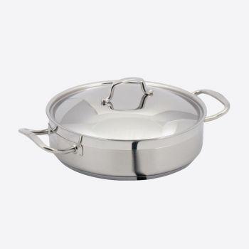 Point-Virgule Professional low casserole ø 32cm