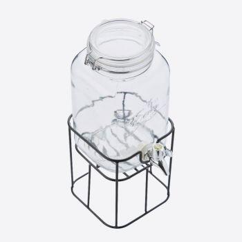 Point-Virgule drinks dispenser with metal holder 3.6L (per 4pcs)