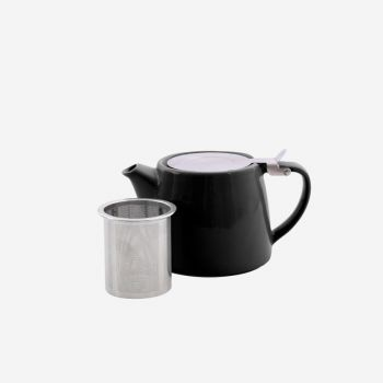 Point-Virgule teapot with infuser mat black 500ml