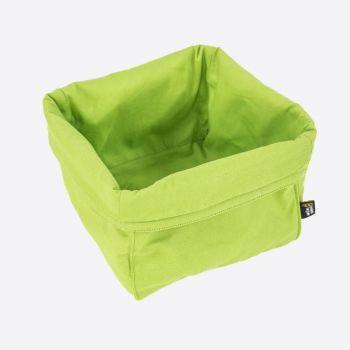 Point-Virgule bread basket green 20x20x20cm
