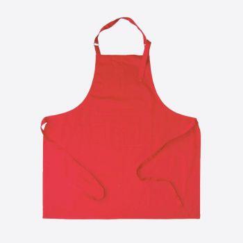 Point-Virgule apron red 85x90cm