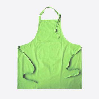 Point-Virgule apron green 85x90cm