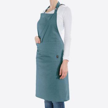 Point-Virgule apron bluish green 85x90cm