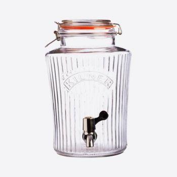 Kilner vintage drinks dispenser with tap 5L (per 2pcs)