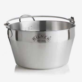 Kilner stainless steel jam pan 8L