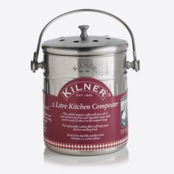 Kilner kitchen composter 2L