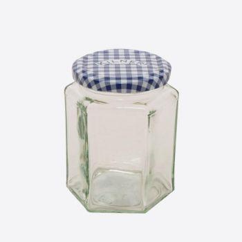 Kilner hexagonal glass twist top jar 280ml (12pcs/disp.)