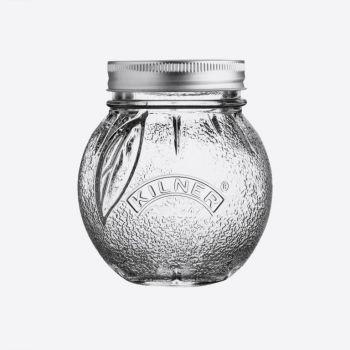 Kilner glass conserving jar orange 400ml