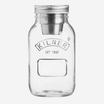 Kilner glass food on the go jar 1L (6pcs/disp.)