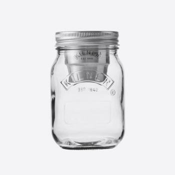 Kilner glass snack on the go jar 500ml (9pcs/disp.)