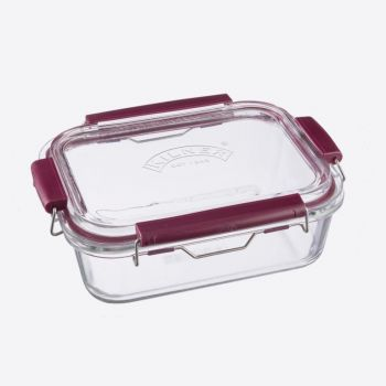Kilner Fresh Storage rectangular glass storage box 1.4L