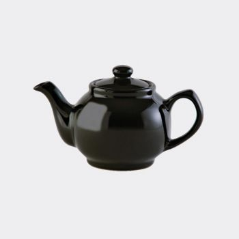 Price & Kensington 2-cups teapot black (per 3pcs)