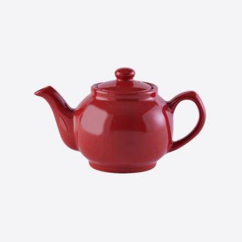 Price & Kensington glossy ceramic 2-cup teapot red 450ml