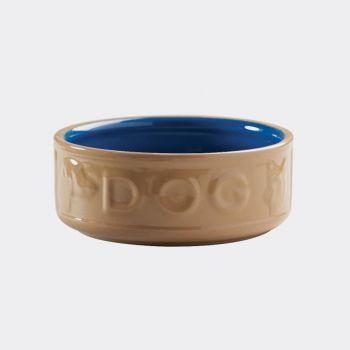 Mason Cash Cane Coloured dog bowl blue ø 18cm (per 6pcs)