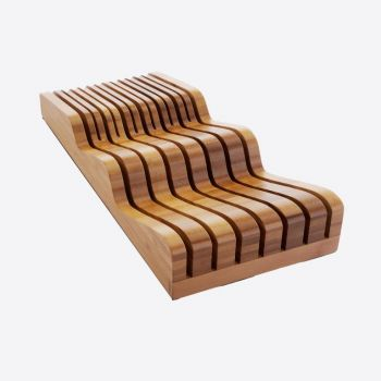 Robert Welch bamboo kniveblock for drawer 40x17.5x9.5cm