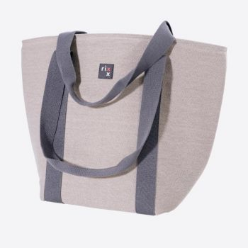 Rixx shoulder cooler bag grey 44x22x34cm