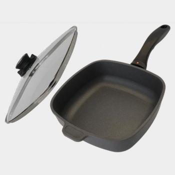 Swiss Diamond square sauté pan with lid 20x20cm H 6cm