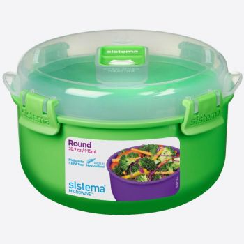Sistema Microwave Colour round bowl 915ml (6 ass.)