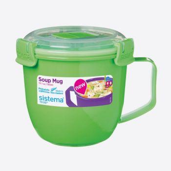 Sistema Microwave Colour soup mug small 565ml (6 ass.)