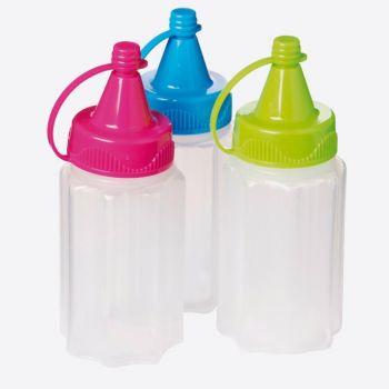 Sistema To Go set of 3 sauce bottles 35ml (12 ass.)