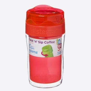 Sistema To Go coffee mug small Twist n Sip 315ml (6 ass.)