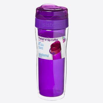 Sistema To Go coffee mug large Twist n Sip 490ml (6 ass.)