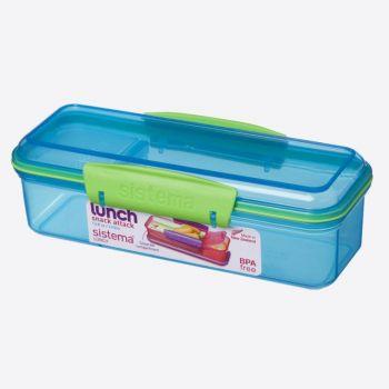 Sistema Trends Lunch snack box Snack Attack 410ml Blau