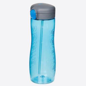 Sistema Hydrate drinking bottle with straw Tritan Quick Flip 800ml (6 ass.)