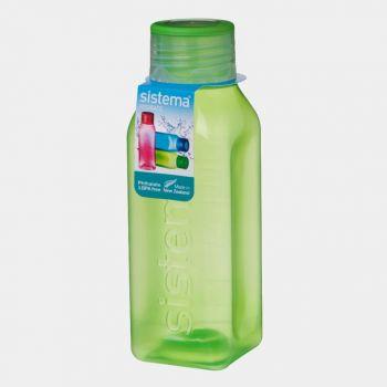 Sistema Hydrate drinking bottle Square Bottle 475ml (6 ass.)