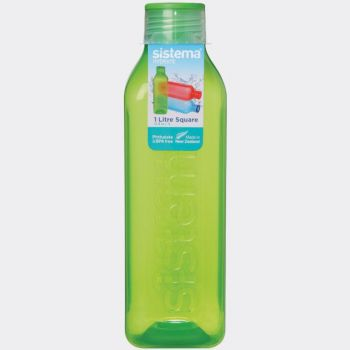Sistema Hydrate drinking bottle square bottle 1L (6 ass.)