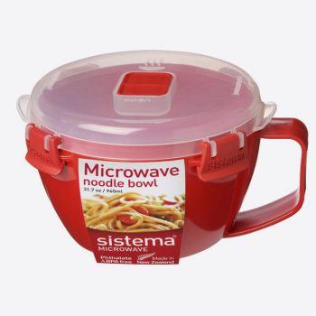Sistema Microwave noodle bowl 940ml (per 4pcs)