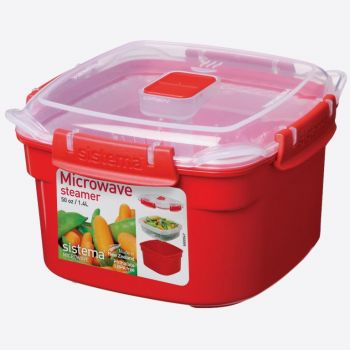 Sistema Microwave steamer small 1.4L (per 4pcs)