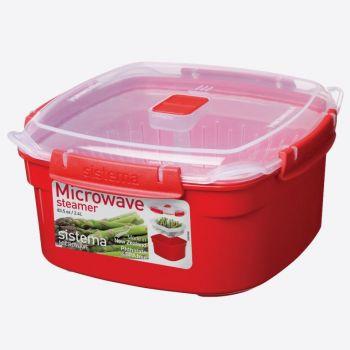 Sistema Microwave steamer medium 2.4L (per 4pcs)