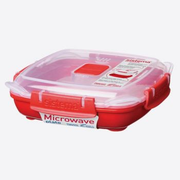 Sistema Microwave plate small 440ml (per 6pcs)