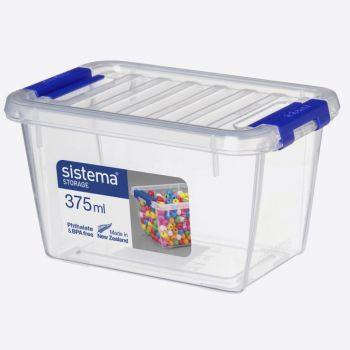 Sistema Storage bin with lid 375ml (per 6pcs)