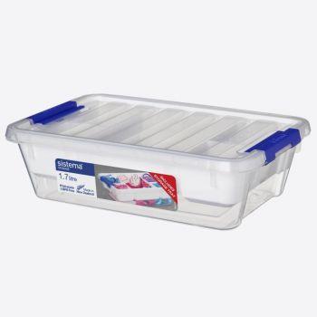 Sistema Storage bin with lid & storage tray 1.7L (per 6pcs)