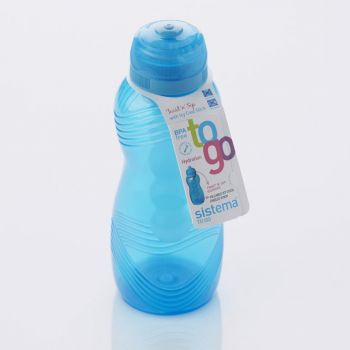 Sistema Hydrate drinking bottle Wave blue 600ml (per 12pcs)