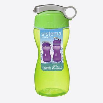 Sistema Hydrate drinking bottle Hourglass lime 475ml (per 6pcs)