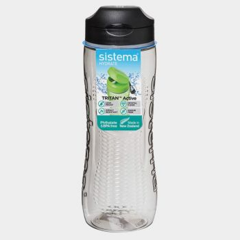 Sistema Hydrate bottle Tritan Active black 800ml (per 6pcs)