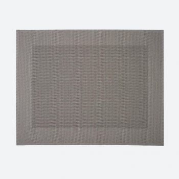 Saleen Rahmen fine woven plastic placemat grey 32x42cm