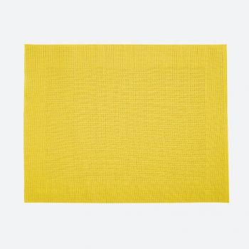 Saleen Rahmen fine woven plastic placemat yellow 32x42cm