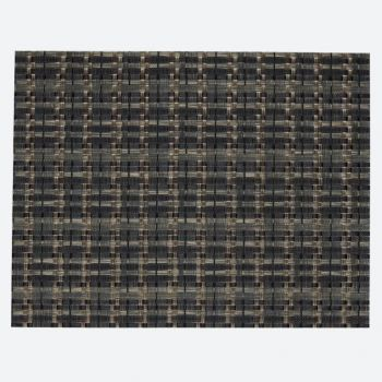 Saleen Edel fine woven plastic placemat olive and black 32x42cm