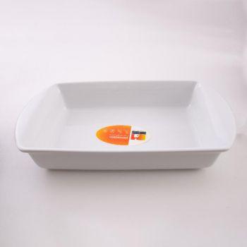 Vista Alegre Ligne Cuisine rectangular plate white 42cm