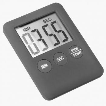 Westmark digital timer with magnet black 7x5.3x0.8cm
